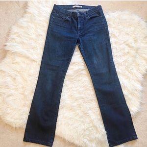 J Brand 805 Mid Rise Straight Leg Jeans
